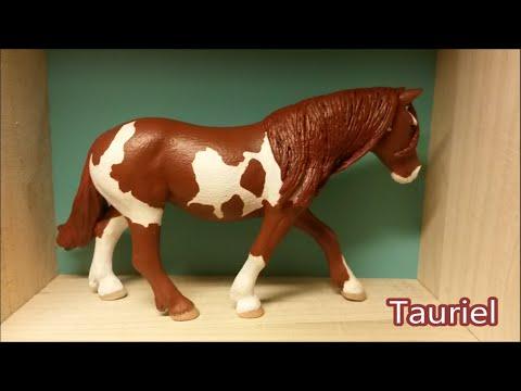 Hoe cust en repaint je een schleich paard?