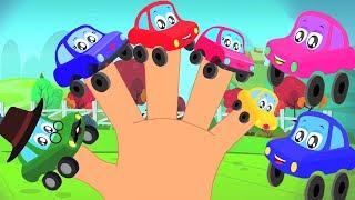 Finger-Familie   Kinderlieder   Auto für Kinder   Car Family   Nursery Rhymes   Finger Family
