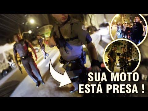 IBRAH DA FZ6 ABORDAGEM SÓ PORQUE TIREI DE GIRO COMO ASSIM ENTÃO TÁ NÉ