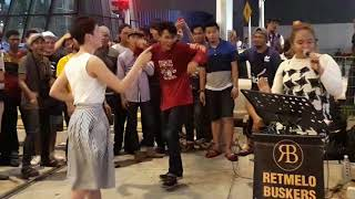 Kopi dangdut , Qistina  feat Retmelo