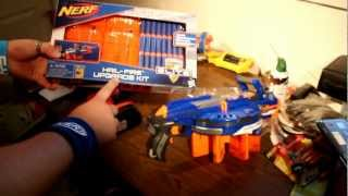 NERF Elite Hail-Fire Un-boxing - Some Assembly Required