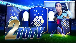 2 TOTY DANS LE MÊME PACK OPENING - FIFA 18 TOTY PACK OPENING