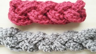 Download Crochet How To: Faux Cabled Headband 3Gp Mp4