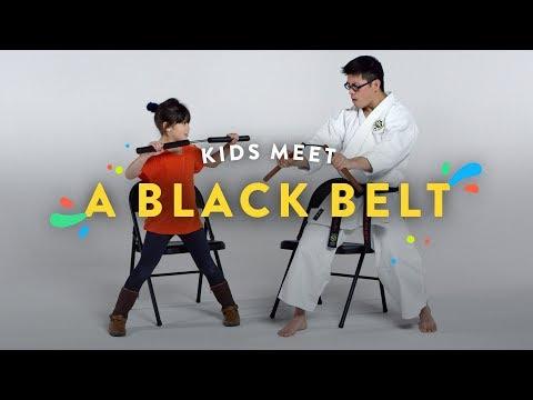 Kids Meet a Black Belt Kids Meet HiHo Kids