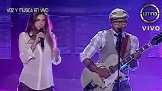 Kalimba y Stephanie Cayo se presentan en La Voz Perú