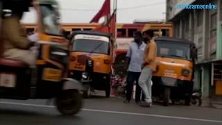 Media Personnel attacked by auto drivers