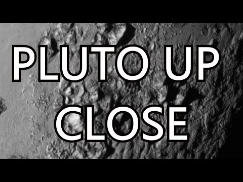 PLUTO UP CLOSE LATEST IMAGES / NASA