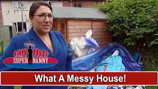 What A Messy House! Dad Uses Kids