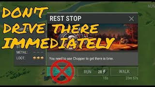 DON'T DRIVE TO REST STOP IMMEDIATELY | LAST DAY ON EARTH: SURVIVAL