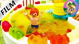 بلايموبيل فيلم-حمام سباحة من فانتا-و الجيلى كولا! جوليان و الاستحمام فى حمام السباحة جديد
