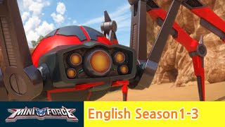[English ver.dub ]MINIFORCE Season1 Ep.3: Attack of Spider Mechamon
