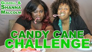 Candy Cane Challenge - GloZell & Shanna Malcolm