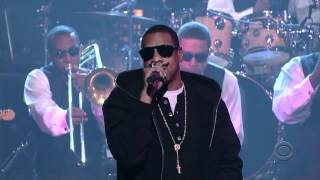 Jay-z - roc boys (and the winner is) (live @ late show 11 02 07)