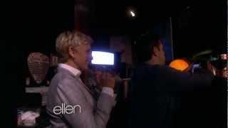 Ellen Scares Andy