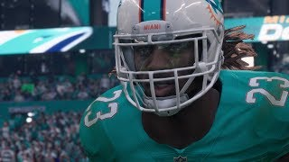 Madden NFL 18 Raw Gameplay | Bills vs Dolphins in Miami | Full Game