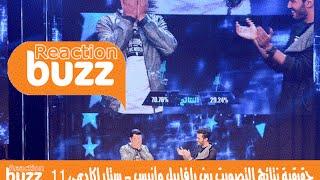 Buzz Reaction ® | حقيقية نتائج التصويت بين رافاييل وأنيس - ستار اكاديمي 11