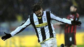 اهداف مباراة يوفنتوس 4-2 ميلان - الدوري الايطالي 2009/2008