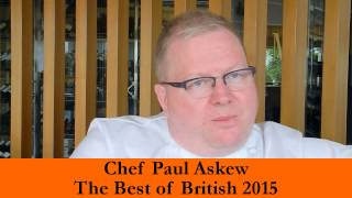 BOB 2015 - Celebrity Chef Paul Askew with Robin Stienberg