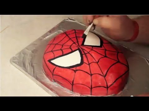 Spider-Man Cake ( How to )
