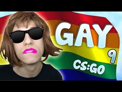 CHICLETE DE CABELO NOVO - FINGINDO SER GAY 9 PEGADINHA CS GO BR PT!