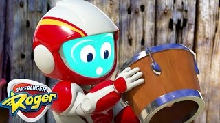 Space Ranger Roger | The Runaway Drum Bot | HD Full Episode 2 | Cartoons For Kids