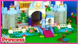 Lego Disney Princess Cinderella and Problematic Pets Stop Motion Animation Princess Cartoon for Kids