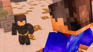Minecraft: SUPER MAN VS BATMAN ‹ BATALHA DE HEROIS › [ Project Superhuman Mod ]