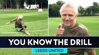 Jimmy Bullard gets floored! 🤣   Leeds United   You Know The Drill