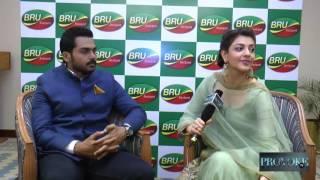 Actor Karthi and Actress Kajal get candid with Provoke Tv