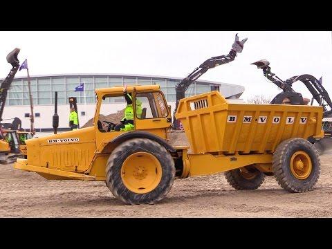 The Big Volvo Demo Show @ Bauma 2016 Part 1
