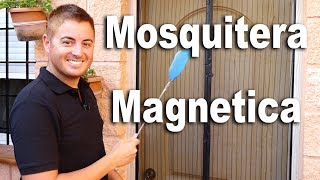 Mosquitera magnetica