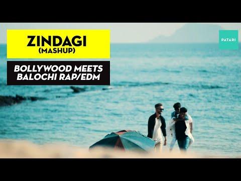 Zindagi (Mashup) | Bollywood Meets Balochi Rap/EDM | Sheri Ft. Sami Amiri & Hyder