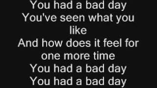 Daniel Powter-Bad Day Lyrics