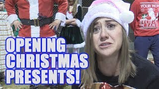OPENING OUR CHRISTMAS PRESENTS! | Offseason Softball Series