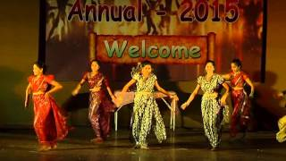 majhya dolyatil kajal choreography @ Miraacle Dance & Fitness Centre...