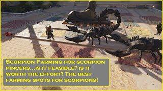 Assassin's Creed® Origins Scorpion Farm Spots