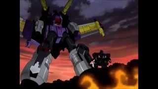 Transformers Energon Optimus Prime VS Galvatron
