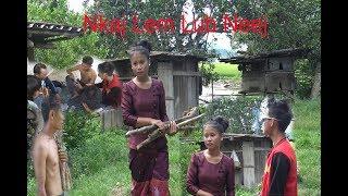 poob nyiaj  10,000,000 Kip poj niam muab ncaws tawm ( Hmong Short film)