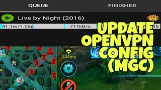 UPDATE OPENVPN CONFIG  GOOD FOR DOWNLOAD BROWSING AND ONLINE GAMES