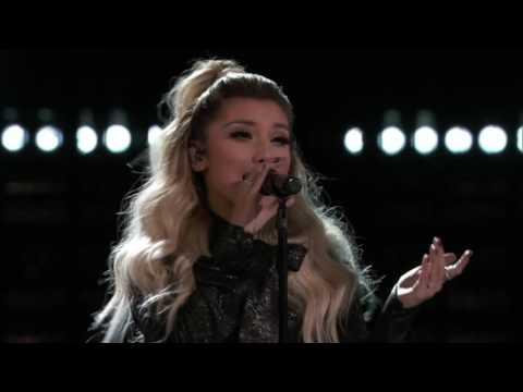 Dolly Parton, Miley Cyrus and Pentatonix Jolene   The Voice 2016 1