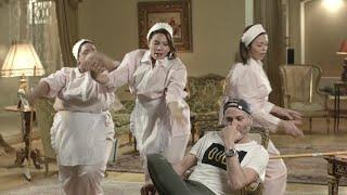 """رقصة حلاوة شمسنا """" النسخة الكوميدية """" من كواليس مسلسل يوميات زوجة مفروسة أوي ... رمضان 2015"""