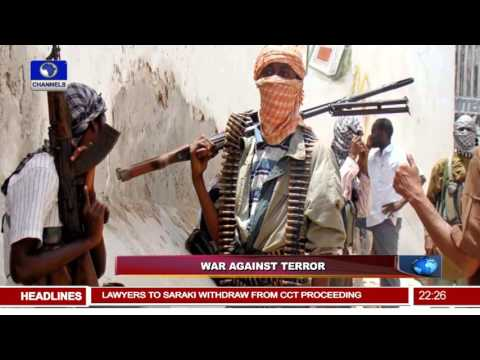News@10: DSS Operatives Lay Siege On Fmr NSA's Abuja Home 05/11/15 Pt 2