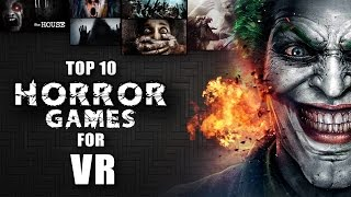 Top 10 BEST VR Android horror games 2016
