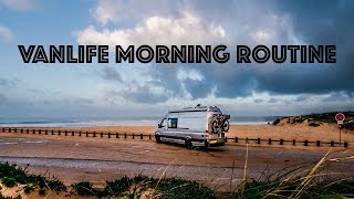 VANLIFE: MORNING ROUTINE living in a van + How to Find the BEST TRAVEL STOPS!