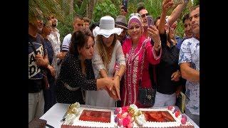 نجوم الجزائر يحتفلون بسلطانة الطرب العربي فلة الجزائرية