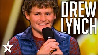Stuttering Comedian Drew Lynch Makes It To Finals | All Performances | America