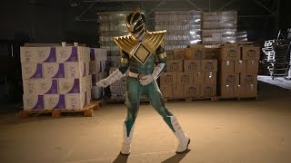 GREEN RANGER vs RYU outtakes and dancing