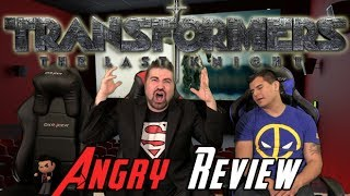 Transformers: The Last Knight Angry Movie Review