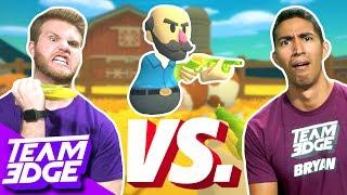 Vegetable Weapon Challenge! | Shotgun Farmers