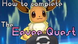 Special Eevee Quest for Eevium Z Guide - Pokemon Sun and Moon